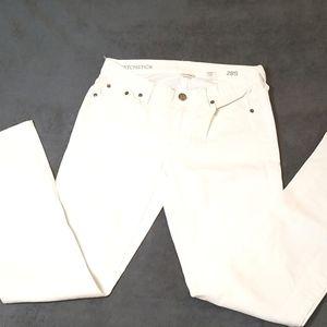 J. Crew Match Stick White Jean 28S